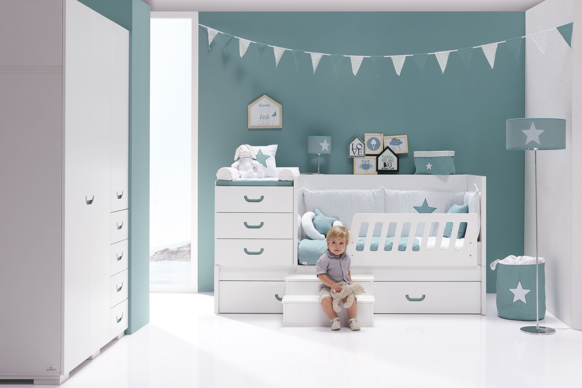 Joy Mare Zero Konver - Convertible Crib