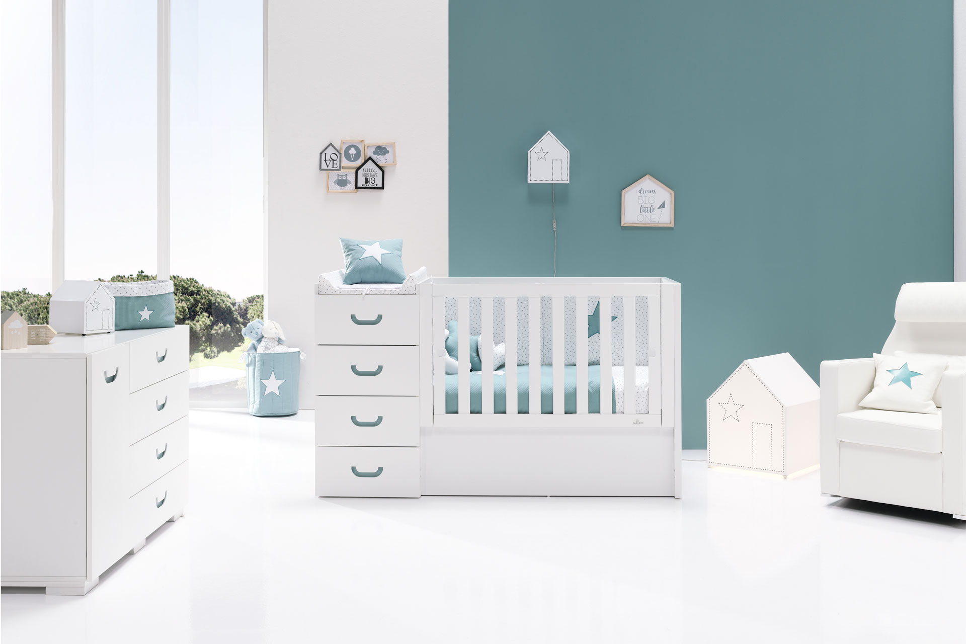 Joy Mare Just Konver - Convertible Crib